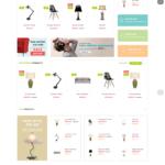 Адаптивный OpenCart 2.3.x шаблон. Интерьер, мебель, электроника